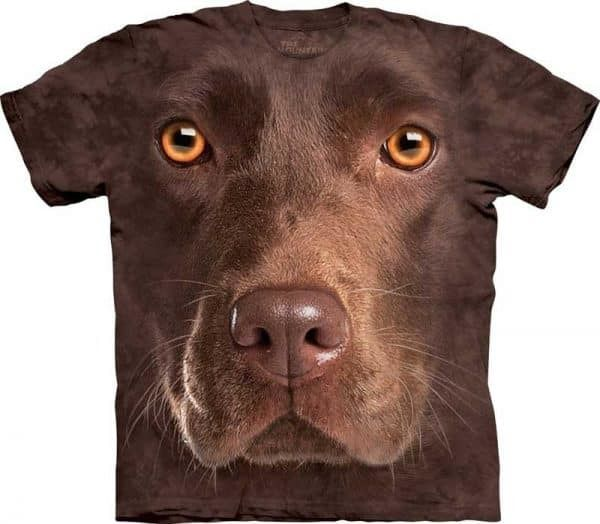 t-shirt met hond