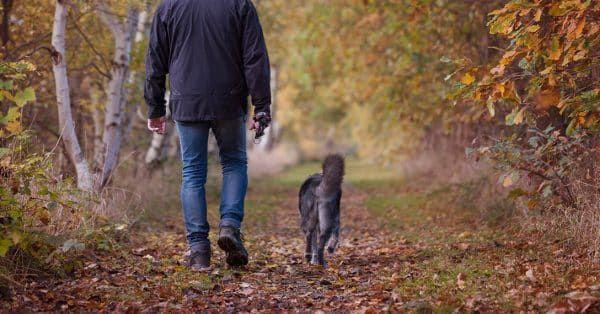 wandelen en onderweg