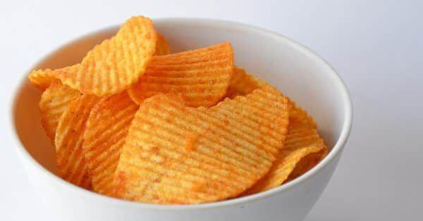 chips mag een hond