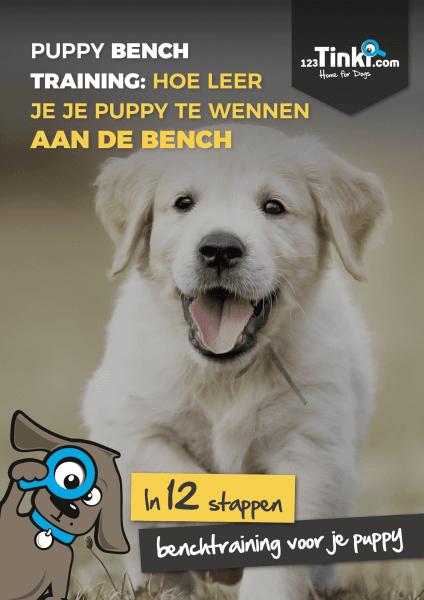 puppy boek over het trainen van een puppy
