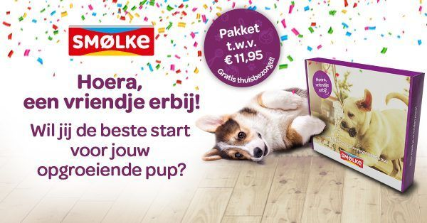 Smolke puppypakket